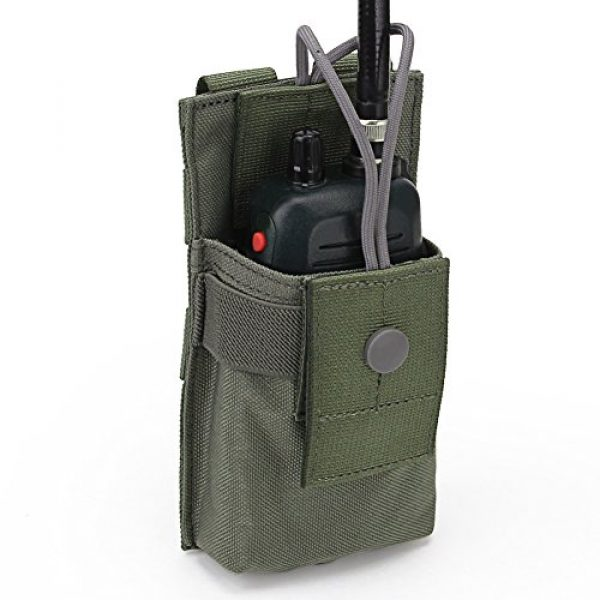 ATAIRSOFT Tactical Pouch 4 ATAIRSOFT Tactical MOLLE Radio Pouch Holder Bag Airsoft Walkie Talkies Holster for BaoFeng UV-5R/UV-82