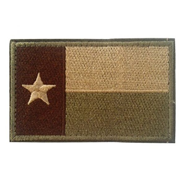 Backwoods Barnaby Airsoft Morale Patch 1 Backwoods Barnaby Texas Flag Morale Patch