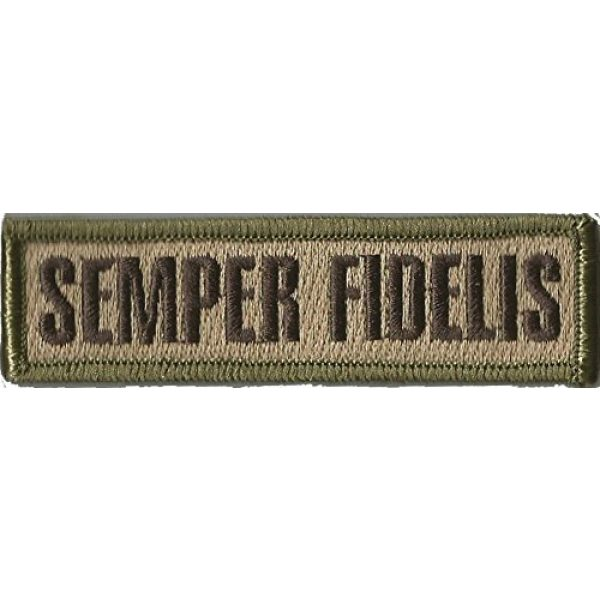 Gadsden and Culpeper Airsoft Morale Patch 1 Tactical Morale Patch - Semper Fidelis