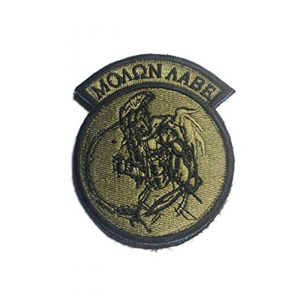 """Empire Tactical USA Airsoft Morale Patch 1 Motorcycle Club Patch 3D PVC Skull Morale Patch 3.5"""" x 2.4"""""""