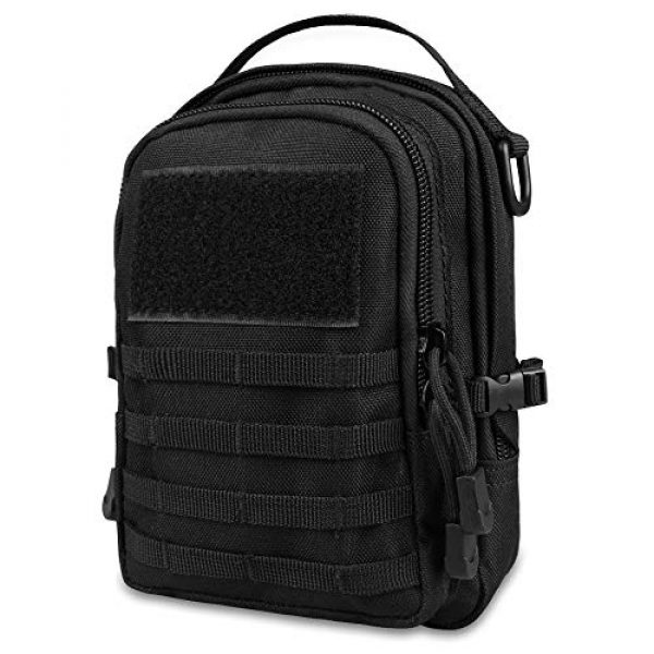 AMYIPO Tactical Pouch 1 AMYIPO Mini MOLLE Pouch Multi-Purpose Compact Tactical Small Waist Bags Utility Pouch Storage Pocket