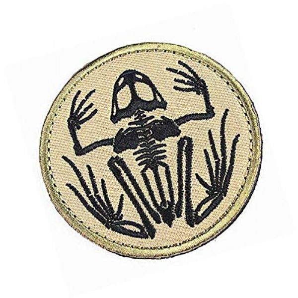 Embroidery Patch Airsoft Morale Patch 2 Navy Devgru Seal Team 6 Skeleton Frog Frogman Military Hook Loop Tactics Morale Embroidered Patch