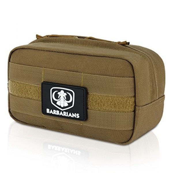 Barbarians Tactical Pouch 1 Barbarians Tactical MOLLE Utility Pouch Compact Horizontal, EDC Multi-Purpose Admin Pouch Bag