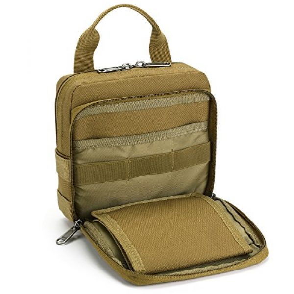 Barbarians Tactical Pouch 4 Barbarians Tactical Admin Pouch, MOLLE Military Tool Map Bag Organizer