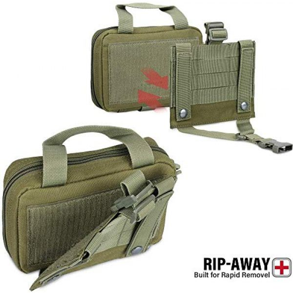 ACOMOO Tactical Pouch 3 ACOMOO Tactical Pouch Tear-Proof Molle Medical Pouch Tearable First Aid Kit, Emergency Bag for Outdoor Hiking