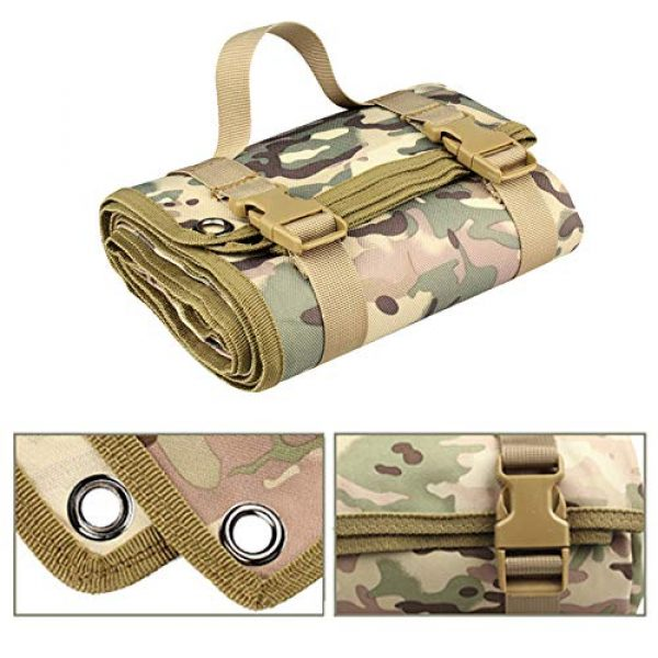 N  A Tactical Pouch 3 N  A Shooting Mat for Range, Shooting Mat, Shooting Gear Tactical Training Shooting Pad Rool-Up Shooters Mat Non-Slip Durable Shooting Rest