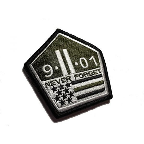 Pantel Tactical Airsoft Morale Patch 1 Multicam Us Made 9 11 Never Forget Patch Morale Military 911 Twin Towers