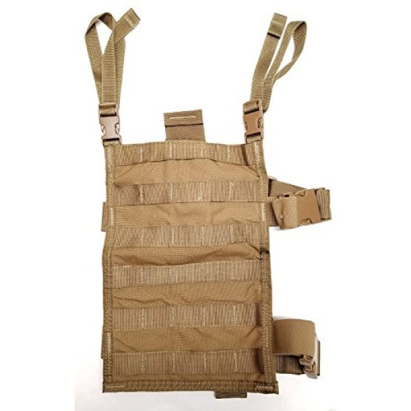 Allied Industries Tactical Pouch 1 Allied Industries USMC FSBE Leg Panel Coyote Brown