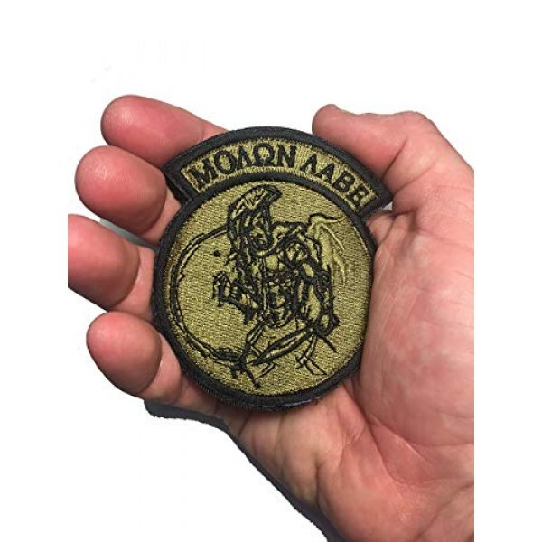 """Empire Tactical USA Airsoft Morale Patch 3 Motorcycle Club Patch 3D PVC Skull Morale Patch 3.5"""" x 2.4"""""""