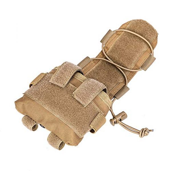 ACKEIVTO Tactical Pouch 1 ACKEIVTO Tactical Helmet Pouch Removable Gear Pouch Box