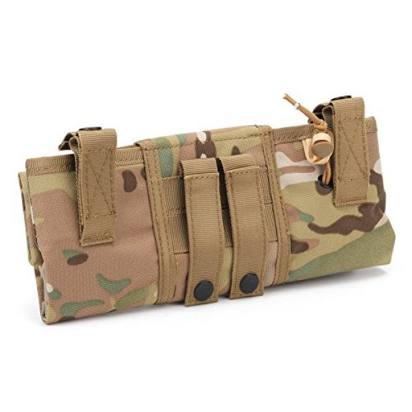 ATAIRSOFT Tactical Pouch 2 ATAIRSOFT Molle System Tactical Foldable Dump Magazine Pouch Hunting Recovery Bag Drop Pouches