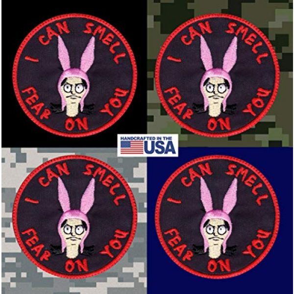 Tactical Patch Works Airsoft Morale Patch 3 Louise Belcher Smell Fear On You Inspired Art Patch