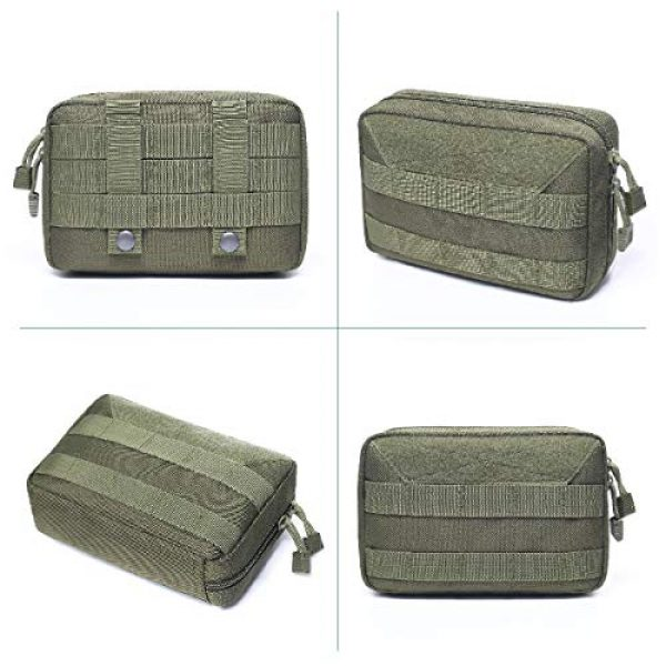 Azarxis Tactical Pouch 7 Azarxis Tactical MOLLE Rip-Away EMT Medical First Aid IFAK Blowout Pouch Trauma Bag