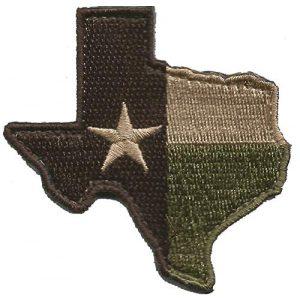 Gadsden and Culpeper Airsoft Morale Patch 1 Die-Cut Tactical Texas Patch - Multitan