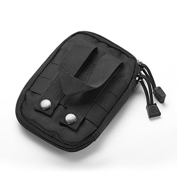 BIHIKI Tactical Pouch 6 BIHIKI Medical Pouch, First Aid Bag Tactical Pouch for Camping Climbing Traveling Outdoor Activities, Bag Only