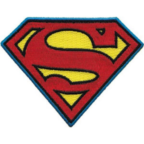 C&D Visionary Airsoft Morale Patch 1 C&D Visionary Application Superman Logo Patch