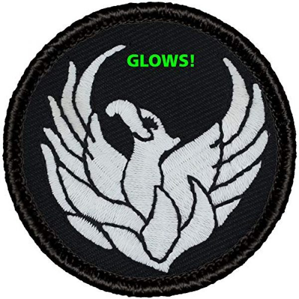 Generic Airsoft Morale Patch 1 Glow-in-Dark! Boy Scout Patch - (#806GL) Glowing Phoenix Patrol Patch