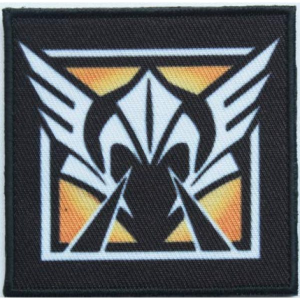 Tactical Embroidery Patch Airsoft Morale Patch 1 Rainbow Six Operator Valkyrie Embroidery Patch Military Tactical Morale Patch Badges Emblem Applique Hook Patches for Clothes Backpack Accessories