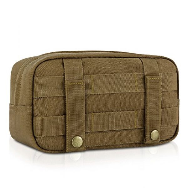 Barbarians Tactical Pouch 7 Barbarians Tactical MOLLE Utility Pouch Compact Horizontal, EDC Multi-Purpose Admin Pouch Bag