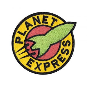 Tactical Patch Works Airsoft Morale Patch 1 Planet Express Futurama Inspired Art Patch