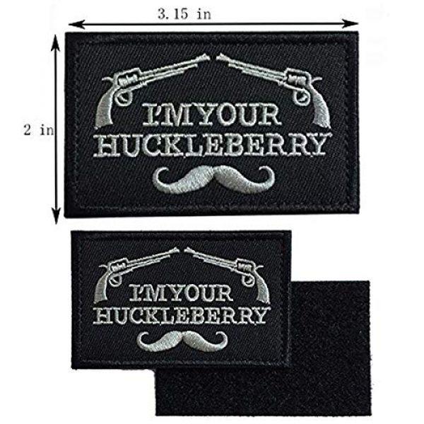 Arogheiz Airsoft Morale Patch 4 Bundle 3 Pieces Tactical Desert Badge Embroidery Fastener Hook & Loop Emblem Patch