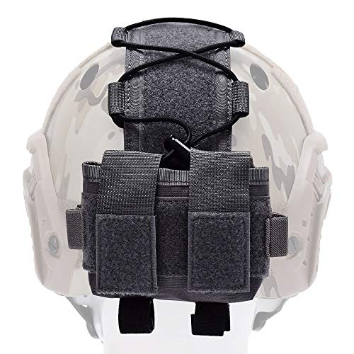 EMERSONGEAR Tactical Pouch 3 EMERSONGEAR Molle Tactical Helmet Pouch Removable Gear Pouch Tactical Fast Helmet Accessories Utility Pouch Helmet Cover Counterweight Bag, Counterbalance Weight Bag