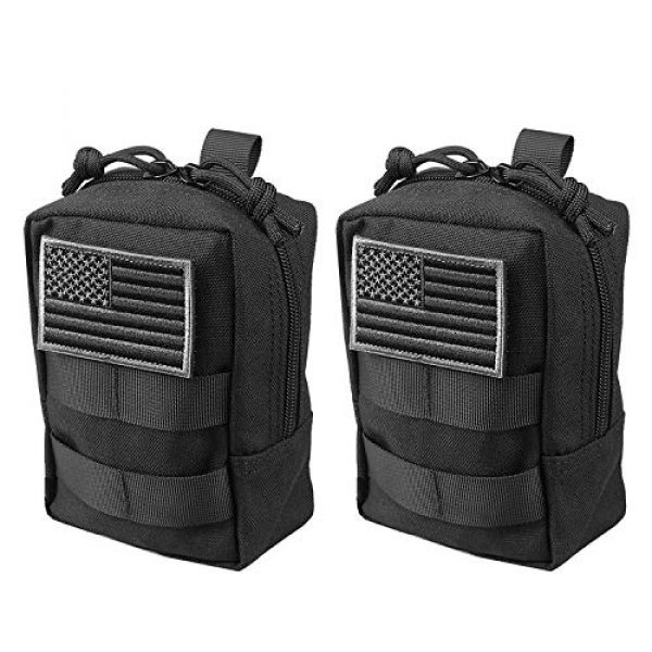 AMYIPO Tactical Pouch 1 AMYIPO MOLLE Pouch Multi-Purpose Compact Tactical Waist Bags Small Utility Pouch