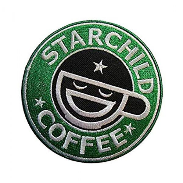 Embroidery Patch Airsoft Morale Patch 3 Ghost in The Shell Stand Alone Complex Laughing Man Military Hook Loop Tactics Morale Embroidered Patch