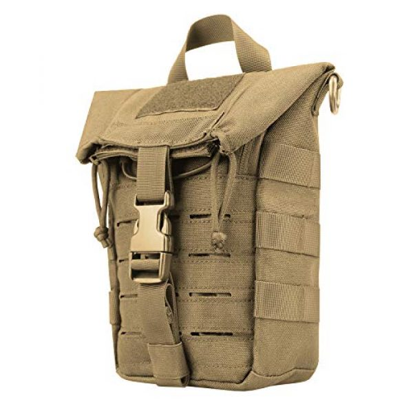 AMYIPO Tactical Pouch 1 AMYIPO Water Bottle Pouch Molle Tactical Holder Storage Bag