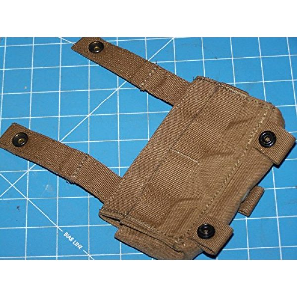 12 Gage Ammo Pouch Tactical Pouch 6 Shotgun 12 Gage Ammo Pouch Military USMC MOLLE FSBE Coyote w P38
