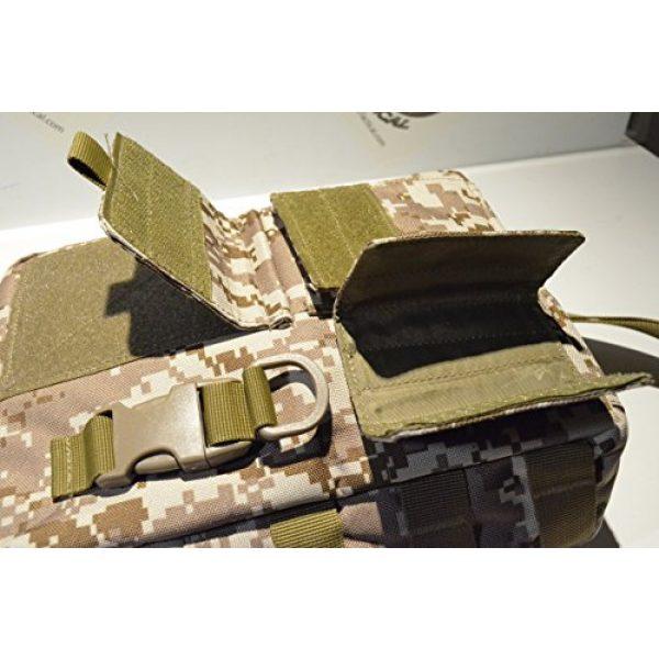 Acid Tactical Tactical Pouch 6 Acid Tactical MOLLE First Aid Bag Pouch Trauma EMT Medic Utility - Desert MarPat Digital Camo