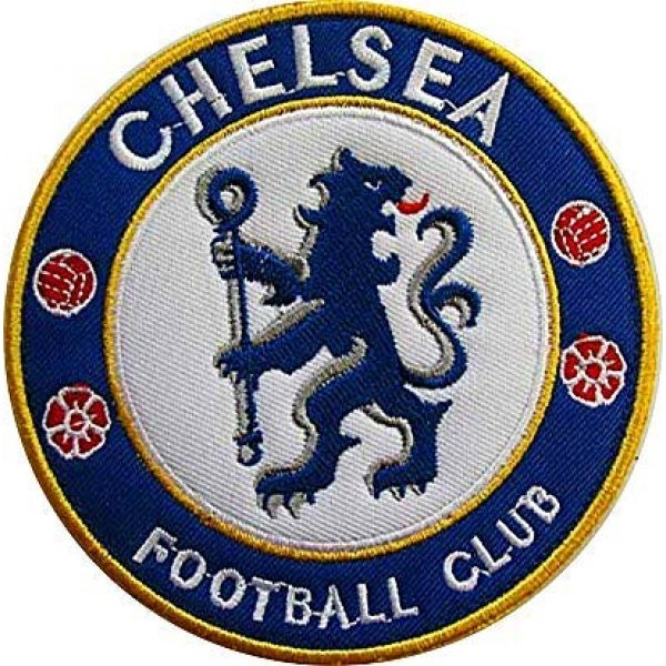 Embroidery Patch Airsoft Morale Patch 1 England Soccer Team Chelsea Soccer Football Club Military Hook Loop Tactics Morale Embroidered Patch