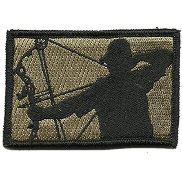 Gadsden and Culpeper Airsoft Morale Patch 1 Tactical Bowhunter Patch - View Colors
