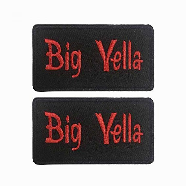 """Graceful life Airsoft Morale Patch 5 Graceful life Custom Embroidery Name Patches 3 1/2""""W x 2""""H Personalized Military Number Tag Customized Logo ID for Multiple Clothing Bags Vest Jackets Work Shirts"""