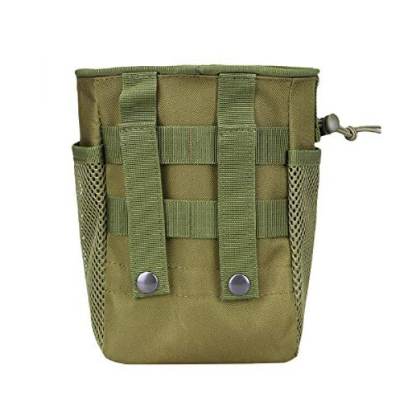 AMYIPO Tactical Pouch 4 AMYIPO Tactical Molle Drawstring Magazine Dump Pouch, Military Adjustable Belt Utility Hip Holster Bag Outdoor Mag Pouch