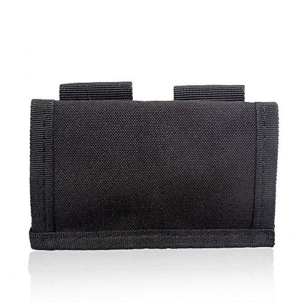 ACKEIVTO Tactical Pouch 3 Speedloader Pouch Case Holder Nylon Tactical Double Speedloader