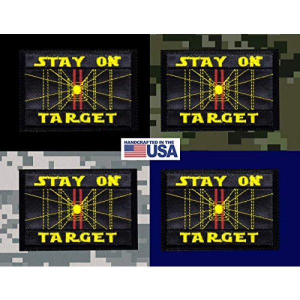 Tactical Patch Works Airsoft Morale Patch 3 Stay On Target Star Wars Inspired ArtPatch