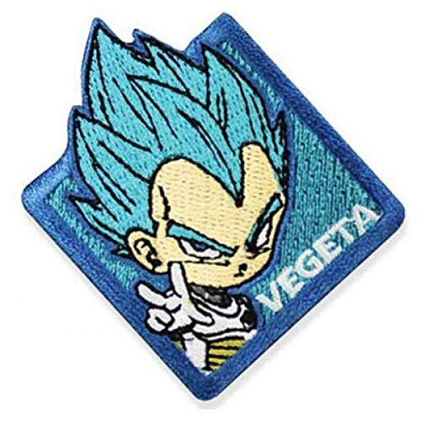 Embroidery Patch Airsoft Morale Patch 1 Dragon Ball Super Vegeta Military Hook Loop Tactics Morale Embroidered Patch