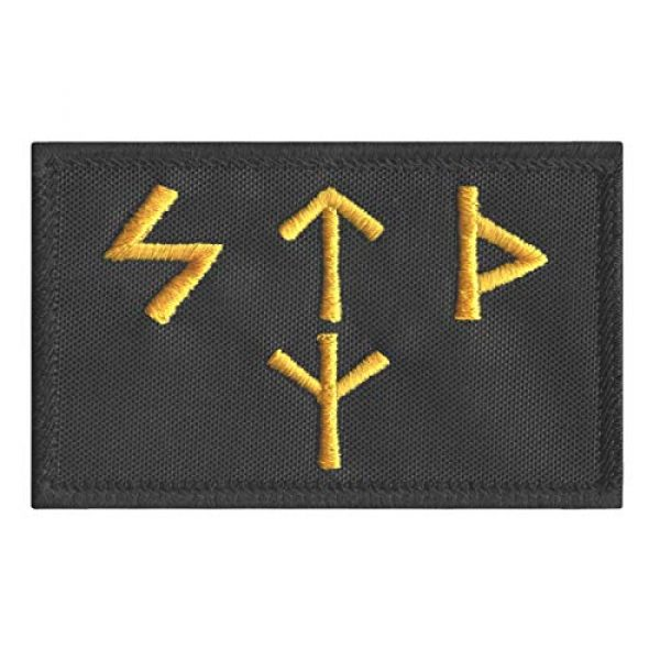 LEGEEON Airsoft Morale Patch 1 LEGEEON Russian FSB Spetsnaz Runes 2x3.25 Special Forces Russia SF SOF KGB Norse Morale Tactical Hook&Loop Patch