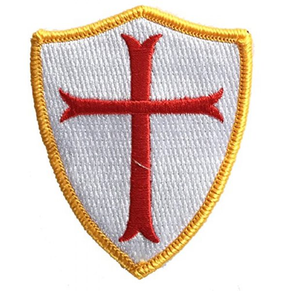 Gadsden and Culpeper Airsoft Morale Patch 1 Crusader Shield Shoulder Patch