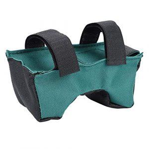 sjlerst Tactical Shooting Bag Rest 1 sjlerst Green Unfilled Durable Oxford Cloth Non-Slip Unfilled Sandbag, Shooter Rest Bag for Hunting Shooting Lovers