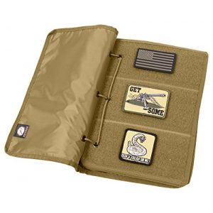 Rothco Airsoft Morale Patch 1 Rothco Hook & Loop Patch Book, Coyote