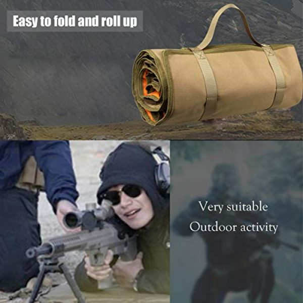 N  A Shooting Mat 2 N  A Shooting Mat for Range, Shooting Gear Tactical Training Shooting Pad Rool-Up Shooters Mat Non-Slip Durable Shooting Rest