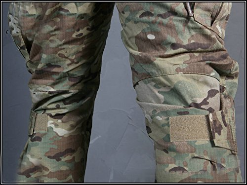 ATAIRSOFT Tactical Pant 7 ATAIRSOFT Tactical Military Emerson BDU Hunting Gen2 G2 Men Combat Pants with Knee Pads Multicam(S-30W)