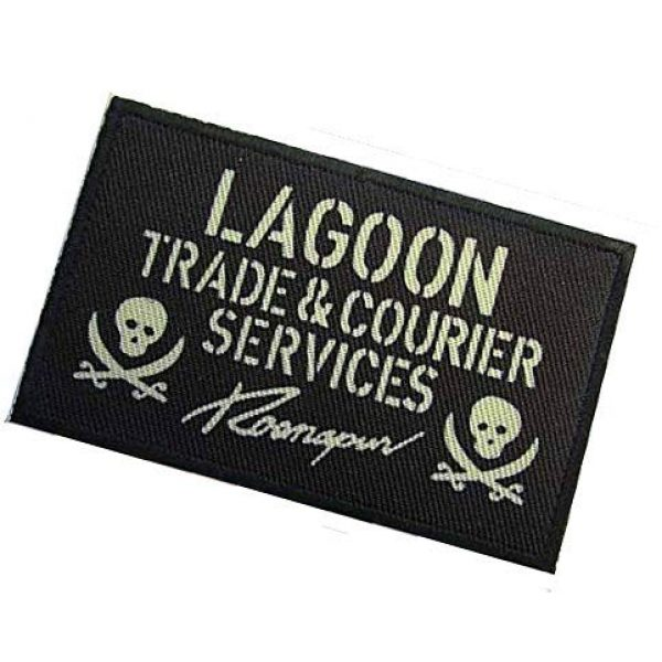 Embroidery Patch Airsoft Morale Patch 3 Black Lagoon Lagoon Military Hook Loop Tactics Morale Patch