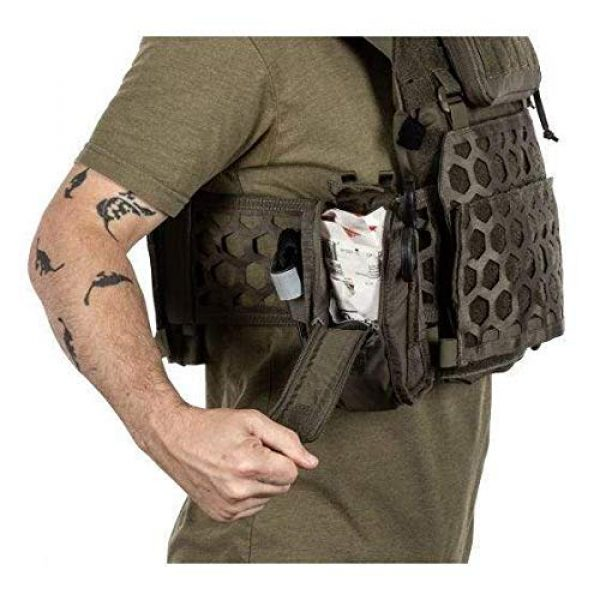 5.11 Tactical Pouch 7 5.11 Tactical Style # 56489 Flex Med Pouch, Includes Extra Flex Hook Adaptor Style # 56480, All in Black