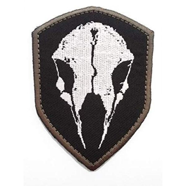 Embroidered Patch Airsoft Morale Patch 1 Ghost Recon Wildlands 3D Tactical Patch Military Embroidered Morale Tags Badge Embroidered Patch DIY Applique Shoulder Patch Embroidery Gift Patch