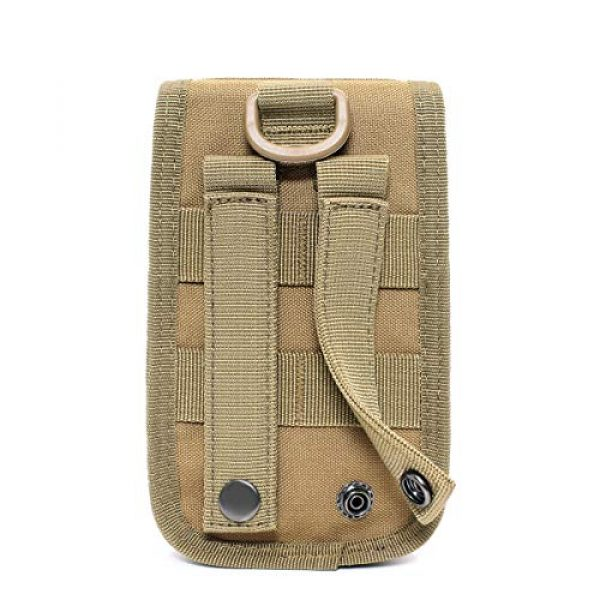 TRIWONDER Tactical Pouch 4 TRIWONDER Tactical MOLLE Holster Army Mobile Phone Belt Pouch EDC Security Pack Carry Accessory Kit Waist Bag Case Cellphone Holster