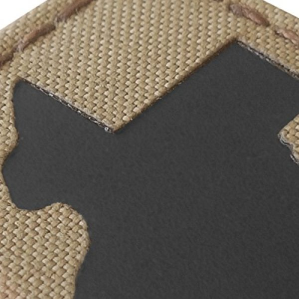 Tactical Freaky Airsoft Morale Patch 5 Texas Multicam Infrared IR 2x2 Tactical Morale Hook&Loop Patch