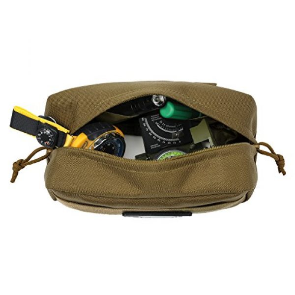 Barbarians Tactical Pouch 3 Barbarians Tactical MOLLE Utility Pouch Compact Horizontal, EDC Multi-Purpose Admin Pouch Bag